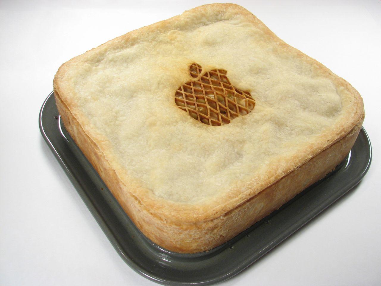 Mac mini с яблоками