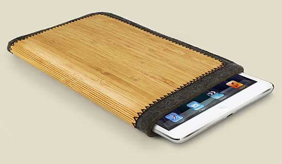 Grove запаковала iPad mini в войлок и бамбук