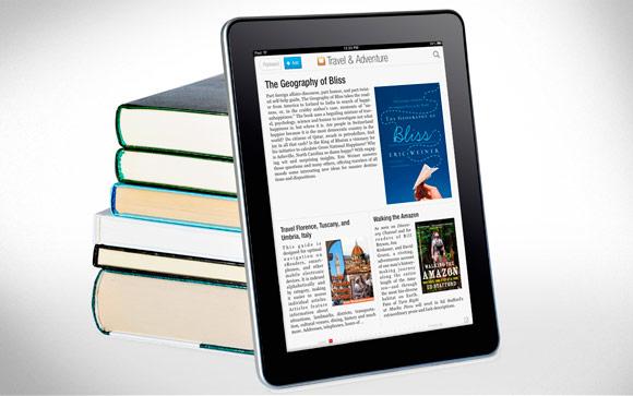 Во Flipboard появилась категория книг