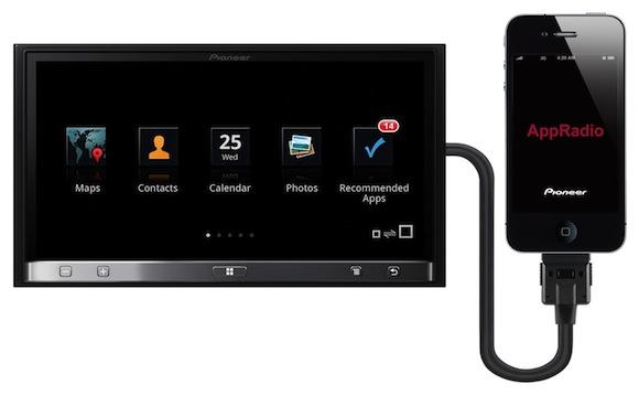 AppRadio. Автомобильная развлекательная система с поддержкой iPhone