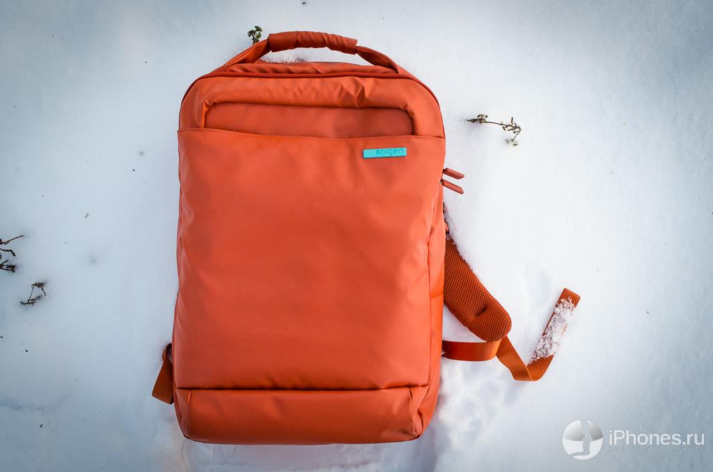 Обзор рюкзака Spigen SGP New Coated Backpack. Тонкий и бездонный