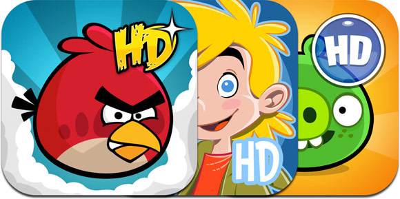 iPad-версии всех Angry Birds, Amazing Alex и Bad Piggies подешевели втрое