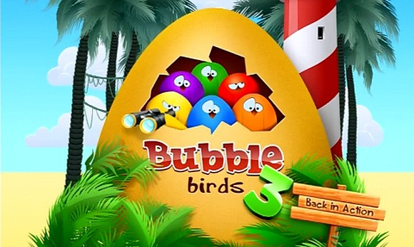 Bubble Birds 3. Пернатые шары