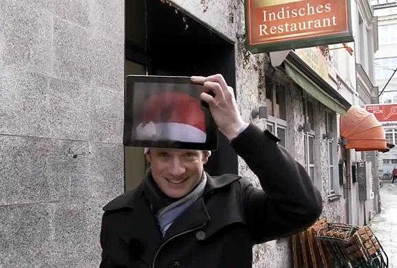 Рождественская магия с iPad