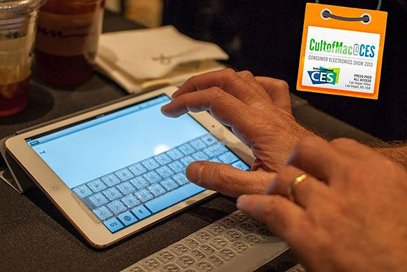 Touchfire добавит тактильный отклик в экранную клавиатуру iPad mini