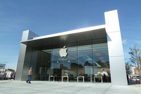 Дизайн магазинов Apple теперь зарегистрированная торговая марка
