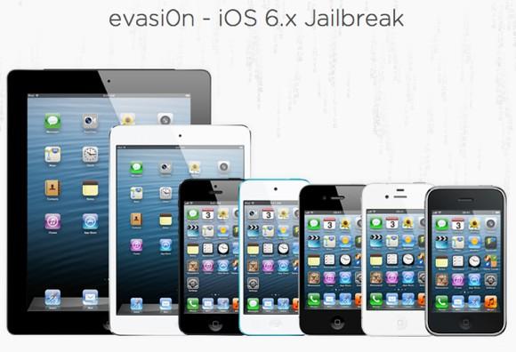 Утилита для джейлбрейка iOS 6.1 называется Evasi0n