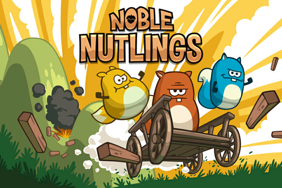 Noble Nutlings. Еще не Rovio, но уже близко