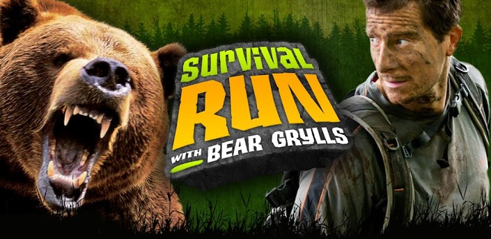 Survival Run with Bear Grylls. Звезда канала Discovery на iOS
