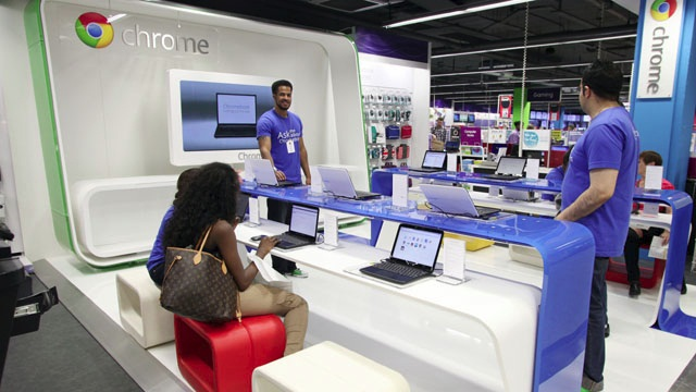 Google откроет магазины розничной торговли, чтобы конкурировать с Apple