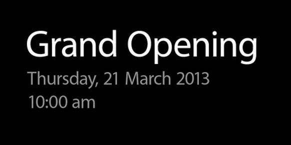 Великобритания встречает новый  Apple Store