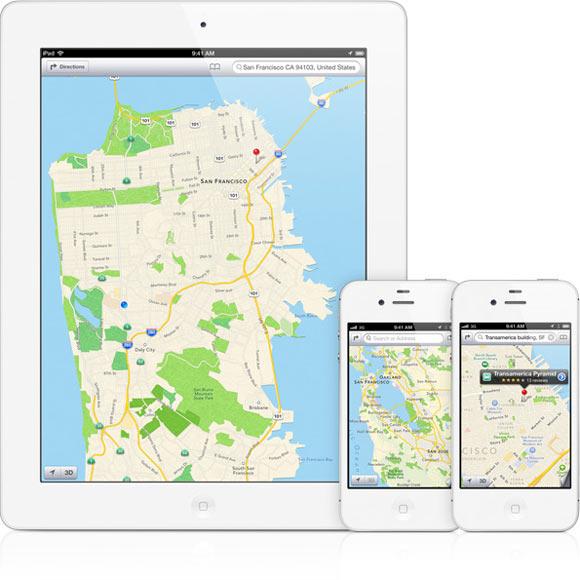 Карты Apple обошли аналоги от Google и Waze