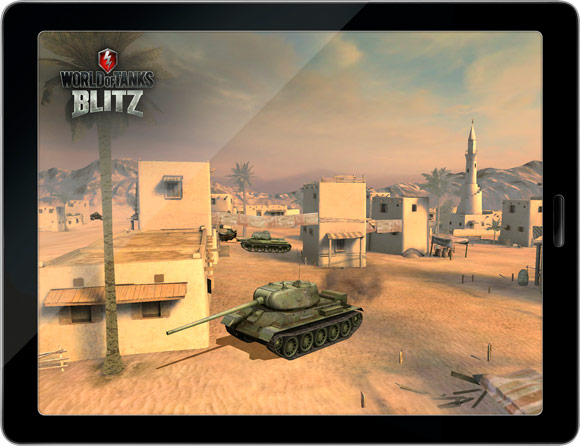 Анонсирована World of Tanks Blitz для iOS