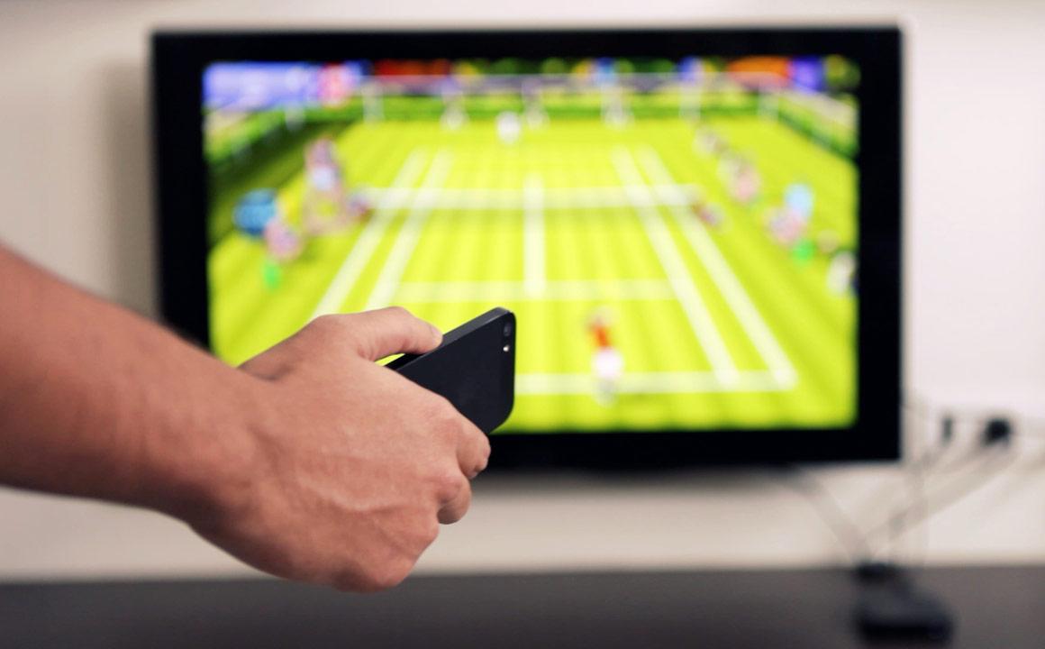 Rolomotion для iPhone превращает Apple TV в Nintendo Wii