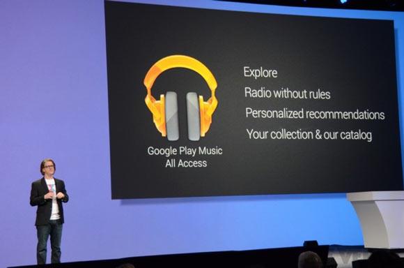 Потоковый музыкальный сервис Google появится на iOS