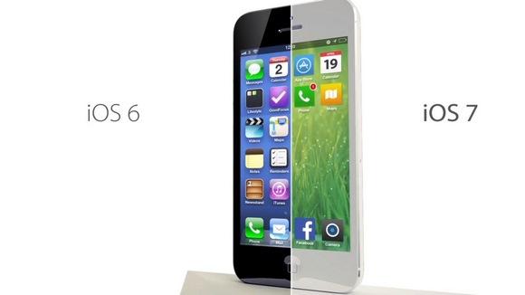 Нововведения iOS 7 в деталях. Панорамные обои и чёрно-белый интерфейс