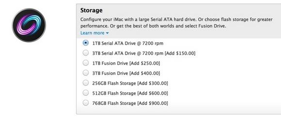 Новые SSD для новых iMac