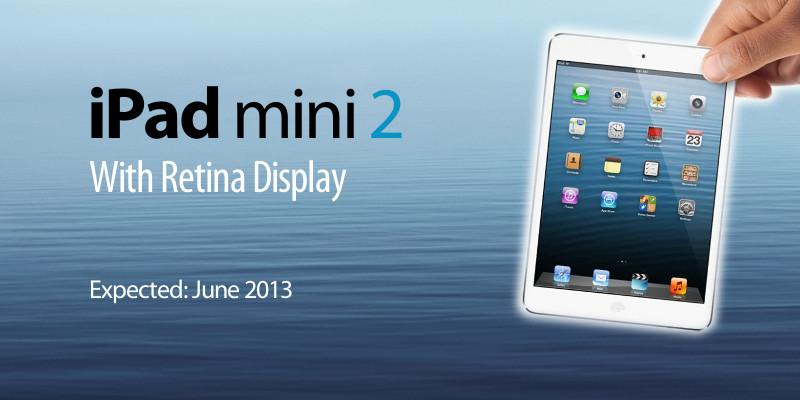 Retina-дисплей для iPad mini скоро поступит в производство