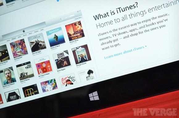 Microsoft просит Apple выпустить iTunes для Windows 8