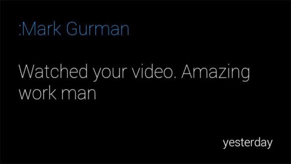 Разработчику удалось отправить уведомление с хакнутого iPhone на очки Google Glass