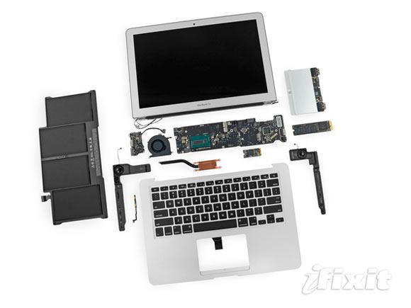 iFixit разобрали новый MacBook Air