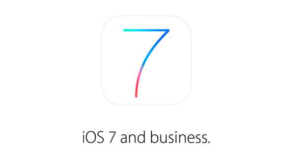 Apple продвигает iOS 7 для бизнеса