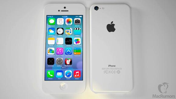Высококачественные рендеры «дешевого» iPhone