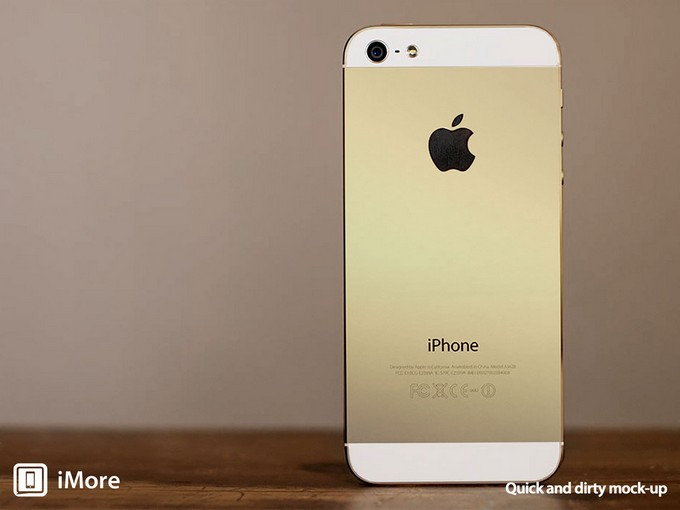 «Золотой» iPhone 5S подтверждён AllThingsD
