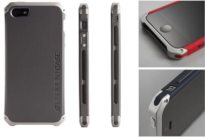 Element Case запаковала iPhone 5/5s в поликарбонат и алюминий
