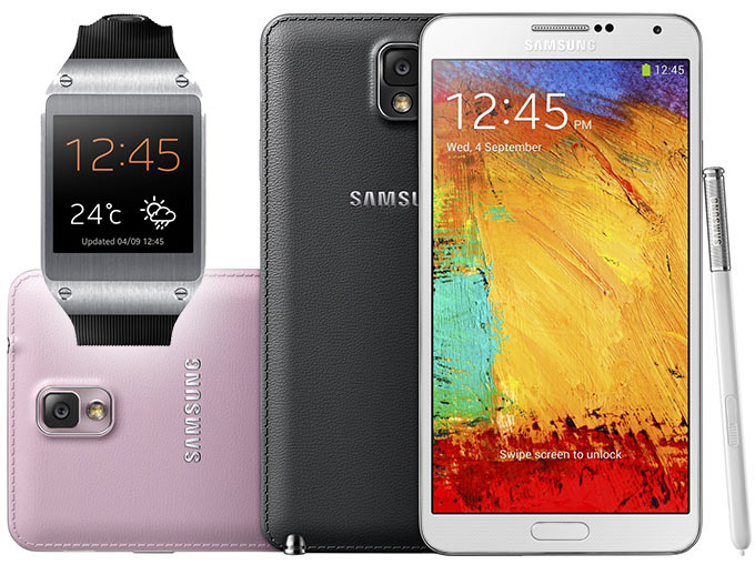 Парад технологий от Samsung: Galaxy Note 3, Note 10.1 и Galaxy Gear