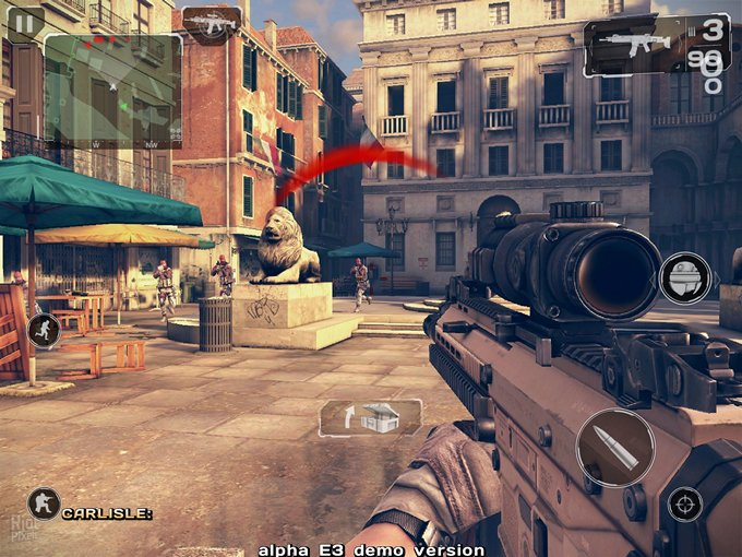 Modern Combat 5 от Gameloft отложен до 2014