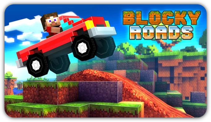 Blocky Roads. Бездорожье в кубе