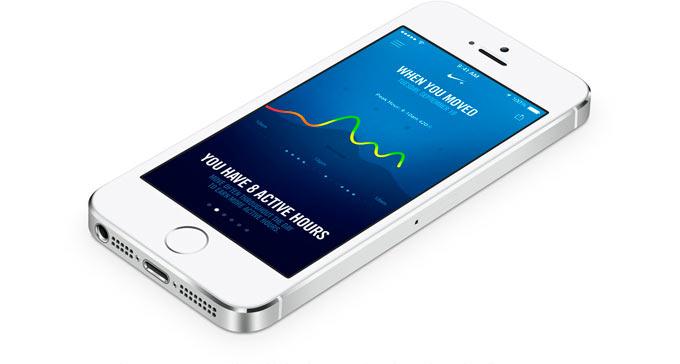 Nike+ Move. Первое приложение с реальной поддержкой сопроцессора М7