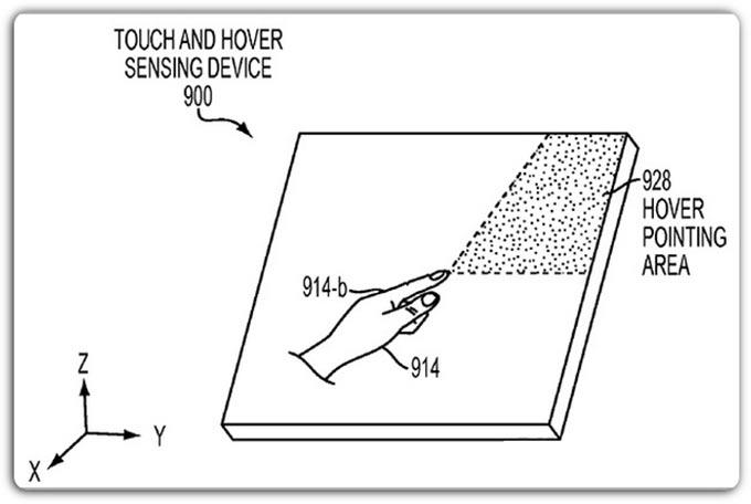 Apple запатентовала технологию парящих жестов и кардиомонитор в iOS-устройствах