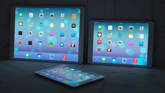 Apple приступила к тестированию сразу пяти 12,9-дюймовых iPad c 2K и 4K дисплеями