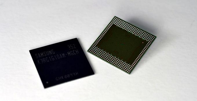 Samsung разработала эффективный чип памяти для мобильных устройств нового поколения