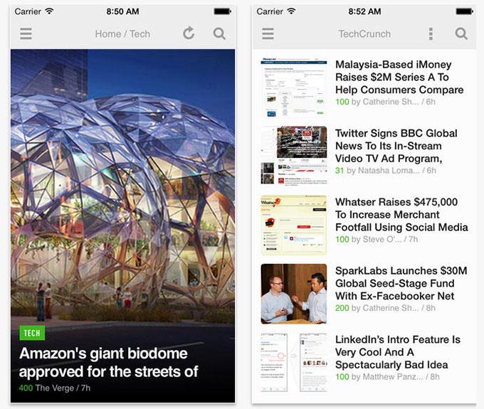 Приложение Feedly для iOS получило функцию Speed reading, ночной режим и новый дизайн для iPad