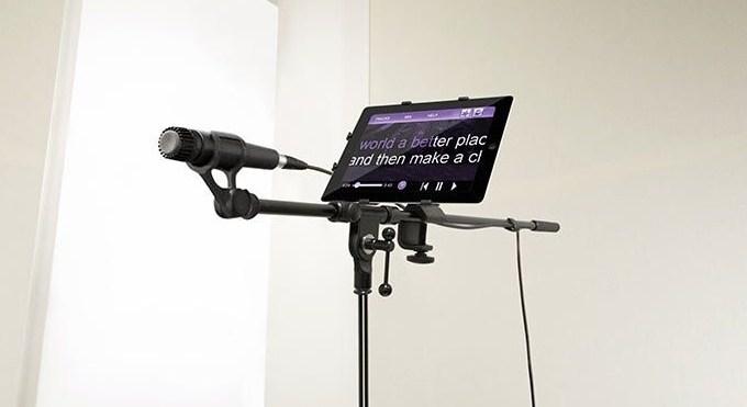 Крепление к микрофонной стойке iKlip 2 для iPad