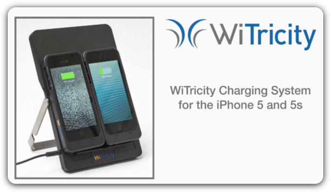 WiTricity показала концепт беспроводной зарядки для iPhone 5/5s