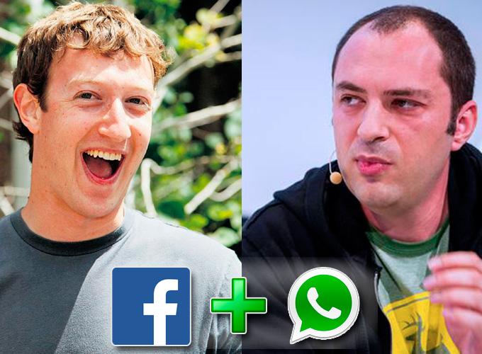 Facebook и WhatsApp: стратегическое приобретение ценой в 19$ млрд.