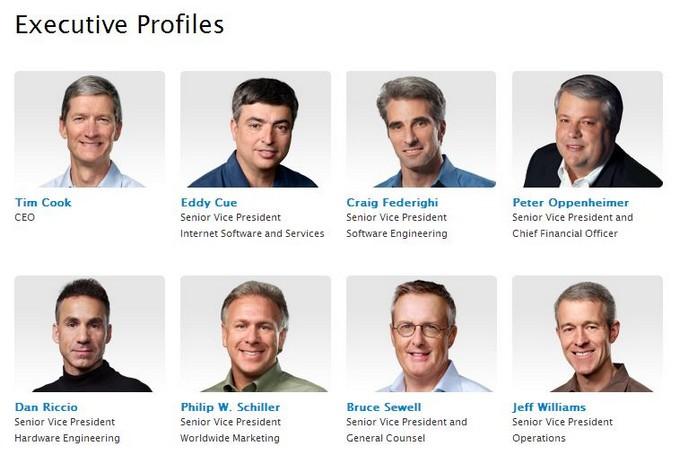 Джонатан Айв исчез из списка руководителей Apple (ненадолго)