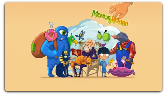 Memory House. Прекрасный тренажер для детской памяти