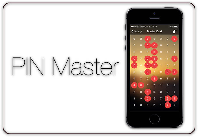 PIN Master. Как легко спрятать ценную информацию у всех на виду