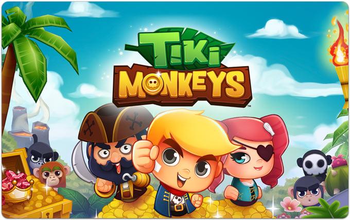 Tiki Monkeys. Бананы в обмен на золото