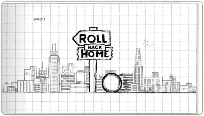 Roll Back Home. Приключения мяча в нарисованном мире