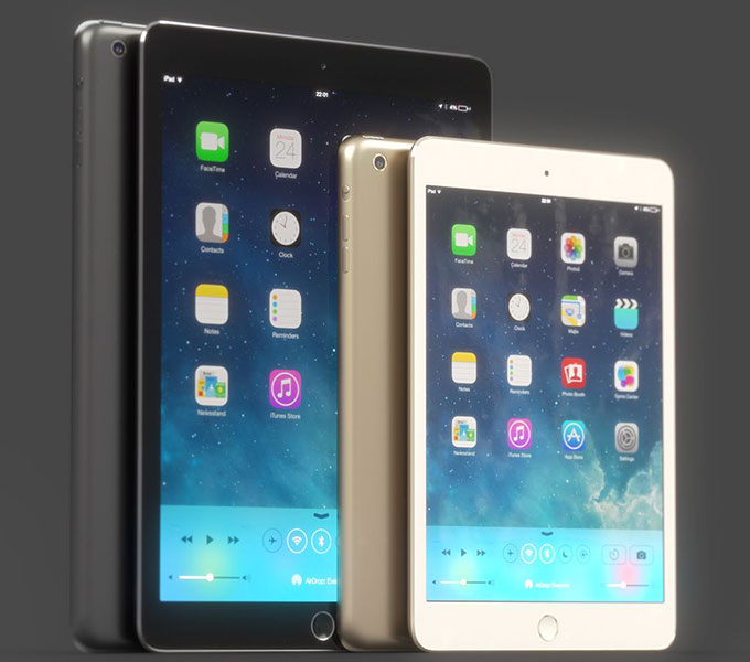Аналитики: Touch ID и процессор A8 от TSMC в iPad 2014, но большой планшет появится лишь в 2015