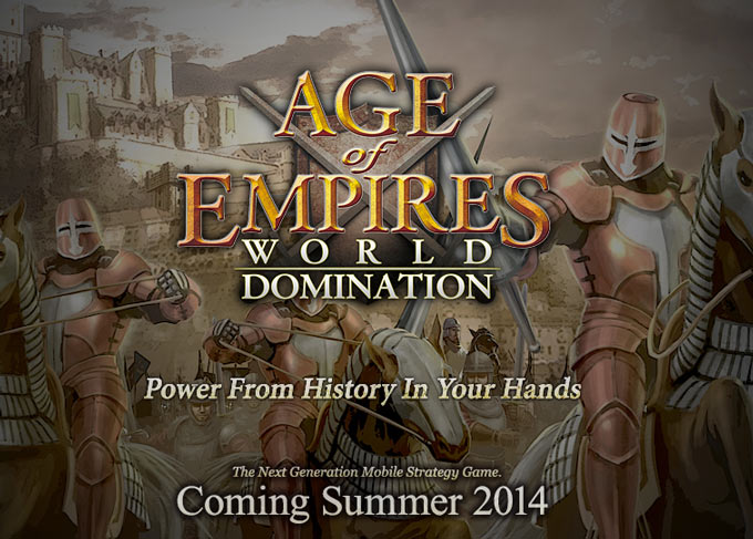 Летом для iOS выйдет Age of Empires: World Domination