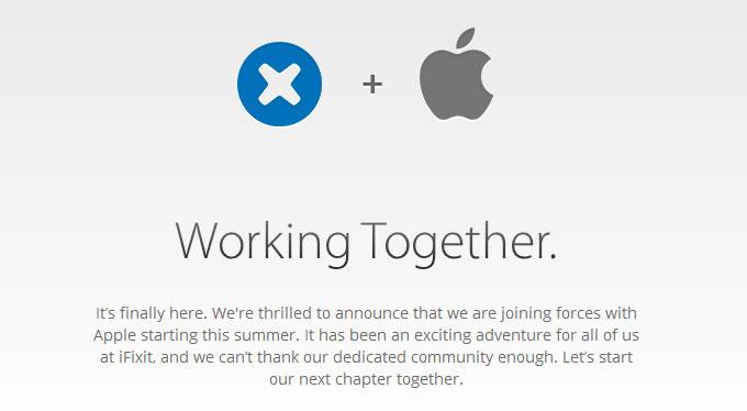 Apple покупает компанию iFixit