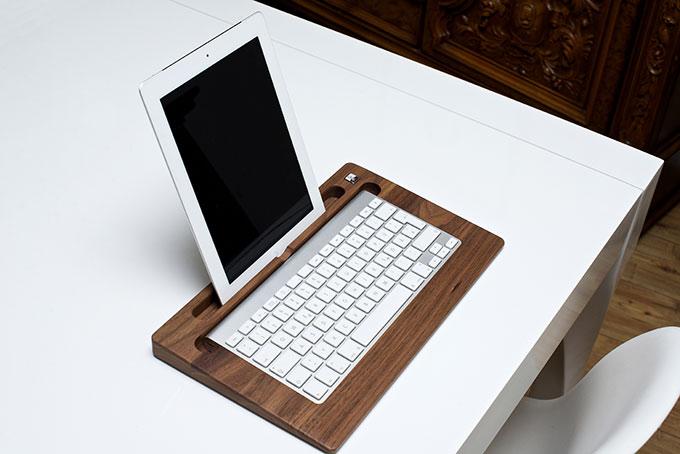 TabletTray. Удобная подставка для iPad и Bluetooth-клавиатуры Apple