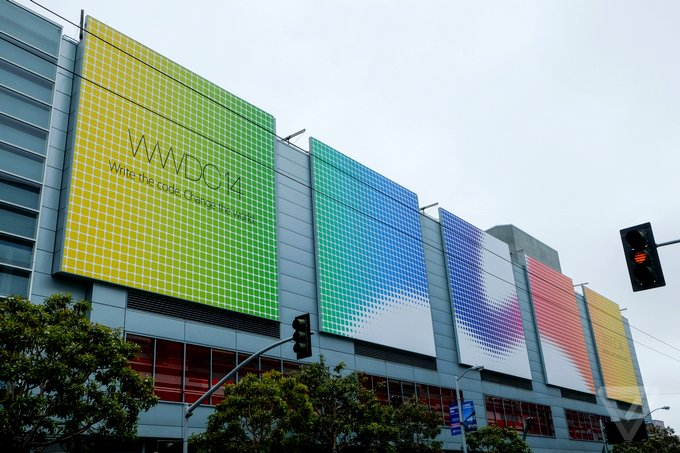 Apple скрыла несколько баннеров на WWDC 2014